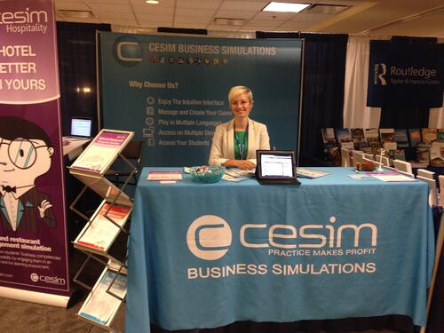 Cesim Business Simulations at ICHRIE and AOM 2014