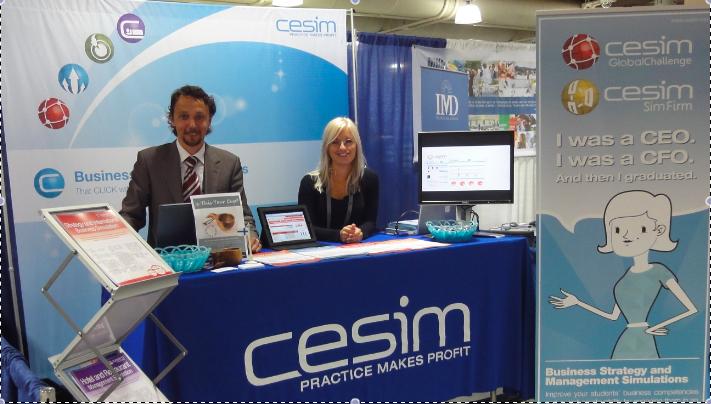 Cesim Business Simulations at AOM 2012