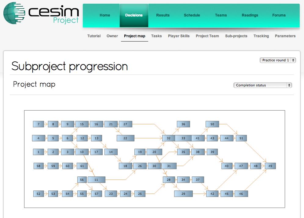 Cesim Project Management Simulation Game