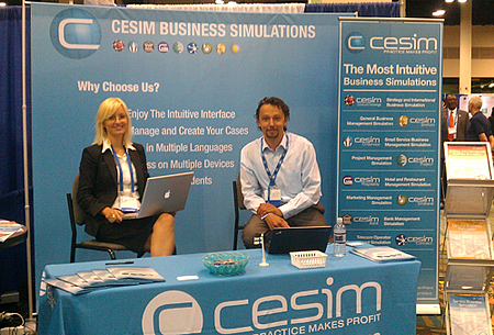 Cesim Business Simulations at AOM 2013