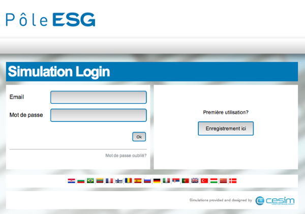 Cesim Business Simulations Pôle ESG