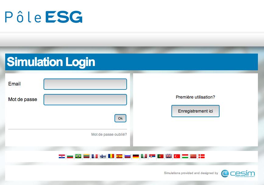 Cesim Business Simulations Pôle ESG
