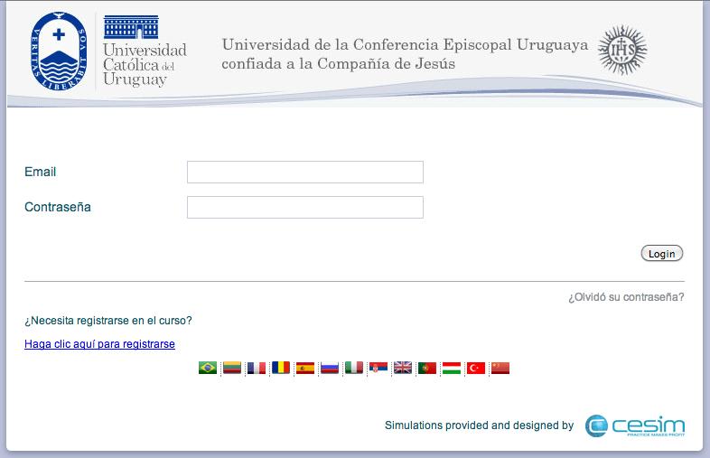 Cesim Business Simulations Universidad Católica del Uruguay