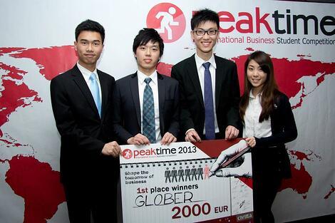 Winner of Peak Time 2013 sponsored by Cesim Business Simulations