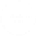 Education Finland logo white