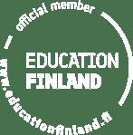 Education Finland logo white