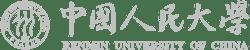 Renmin University of China logo horizontal light gray
