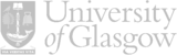 University of Glasgow logo horizontal light gray