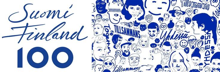 Finland 100 Finland Faces