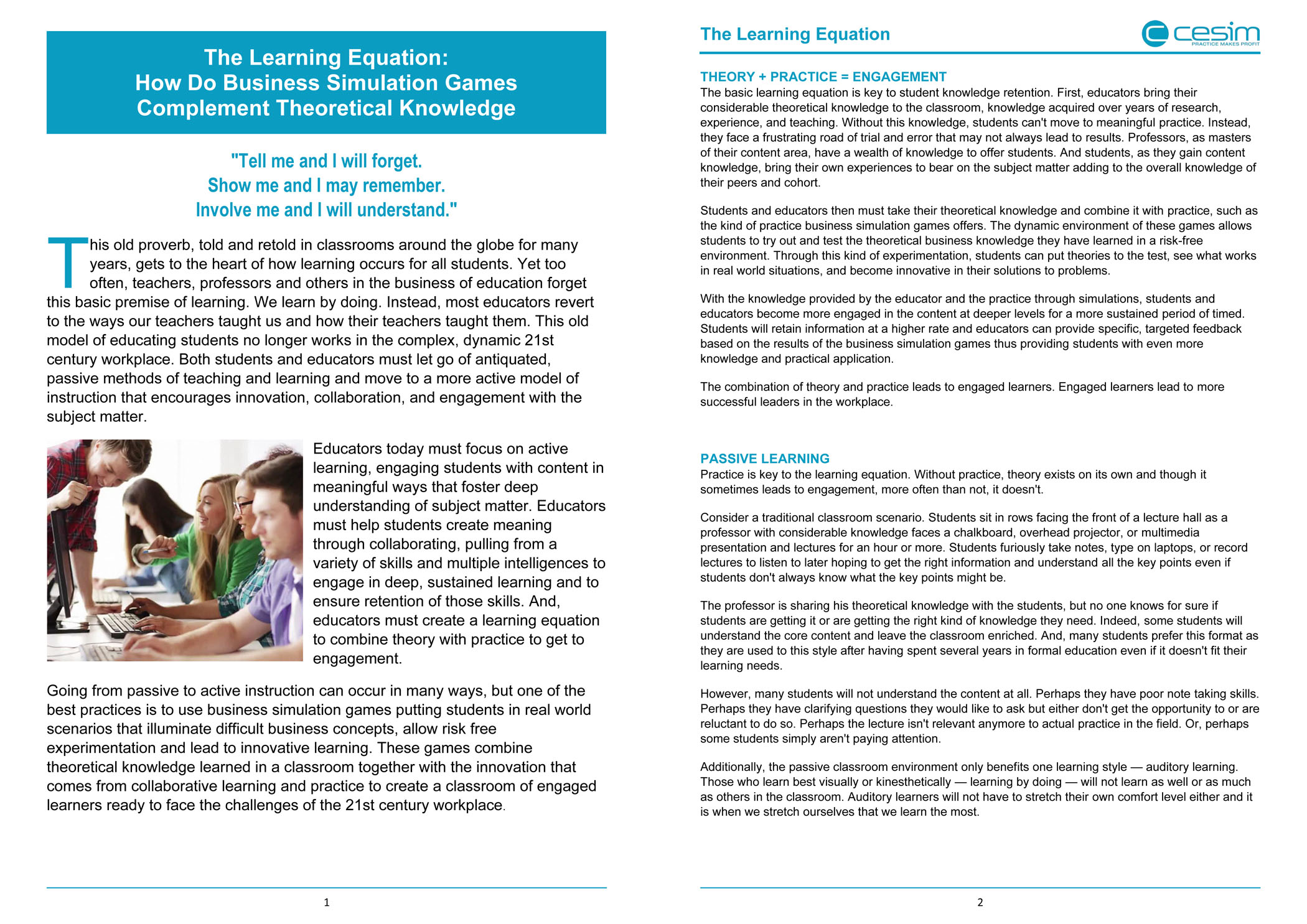 The Learning Equation white paper