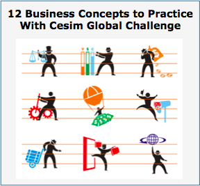 Cesim Global Challenge Business Concepts